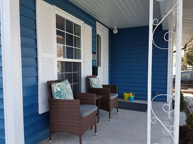 Location!  Crystal Beach Home Steps from the Beach