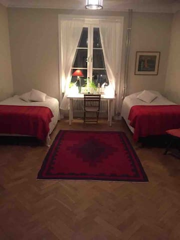 Big room in the heart of Stockholm.