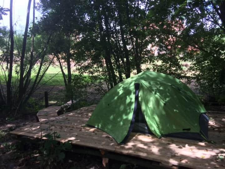 Farm camping near Maribor