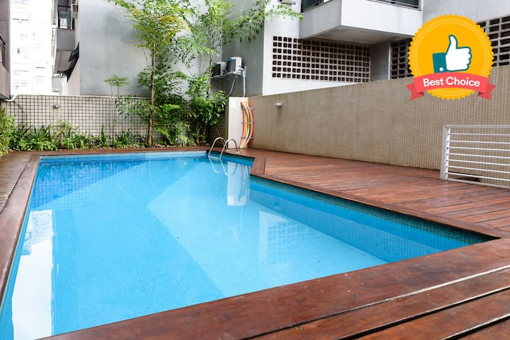 Apartment in Copacabana 200m from the beach Pineapples RPP103