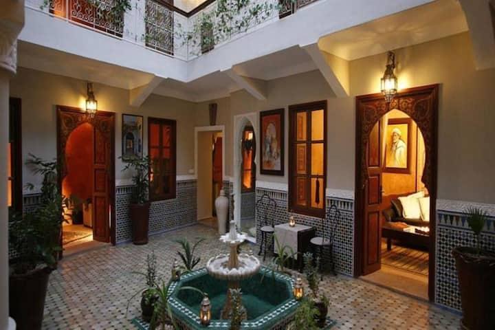 Riad Teranga 3 :  The real moroccan way of life