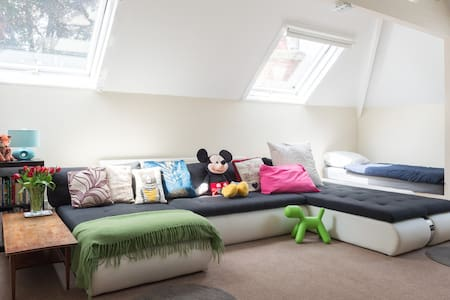 Period House Attic Suite Sleeps up to 7