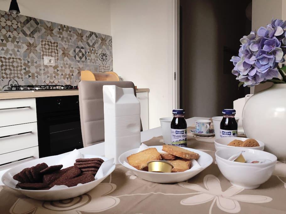 The italian breakfast