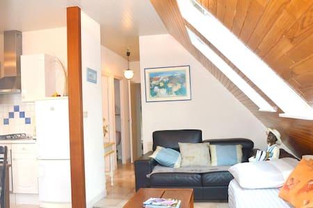 Appartement confortable, indépendant 75m2 parking