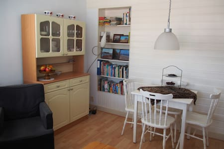 Cozy bed- & living room near centre of Haarlem
