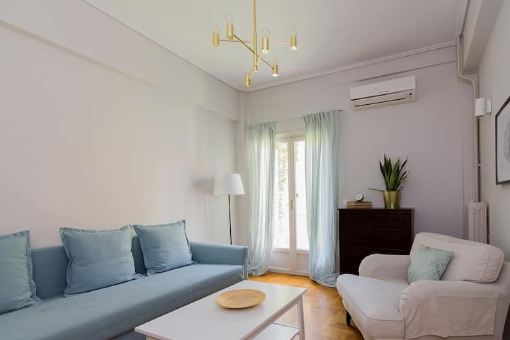 Joyful apartment for 4 ppl in Central location