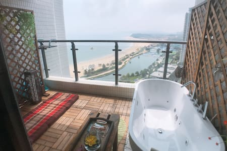 【带按摩浴缸+按摩椅+卡拉OK】敏捷黄金海岸东南亚风情SPA房 【全敏捷只此一家】