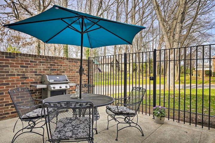 Cozy Greensboro Home w/Patio & Community Pool