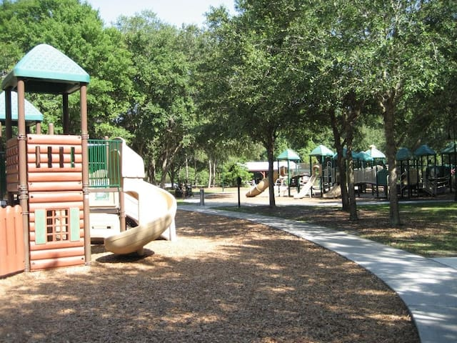 Chapin Station Park (down the block on the West Orange Trail)