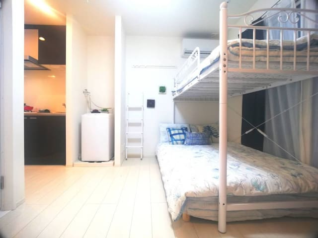 101New modern cozy room 5min to Ikebukuro近池袋,全新公寓