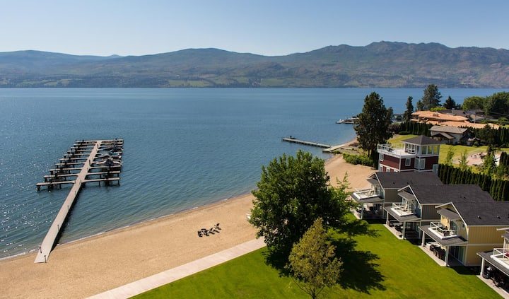 Yellow Lake Cottage at Boucherie Beach Kelowna