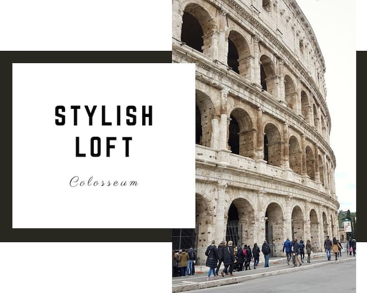STYLISH LOFT~ COLISEUM 4 mins Walk