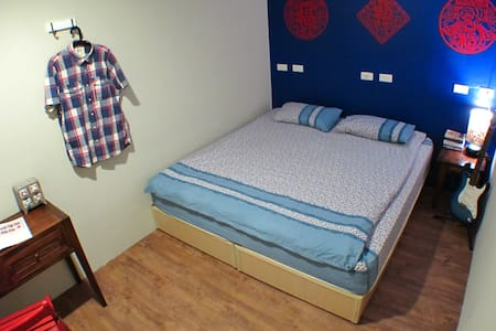 Basic Double Room (beds can be rearranged to make two single beds upon request). Shared bathroom and toilet.