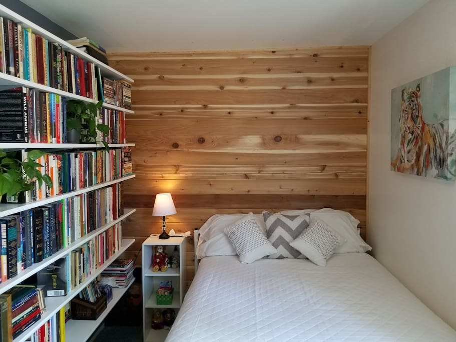 Newly remodeled library room