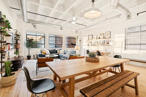 West Home I One of a Kind 2BD 2BA Loft Overlooking Midtown