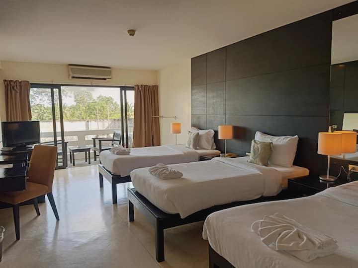 Amarin Samui Hotel-Deluxe Triple Balcony Room Only