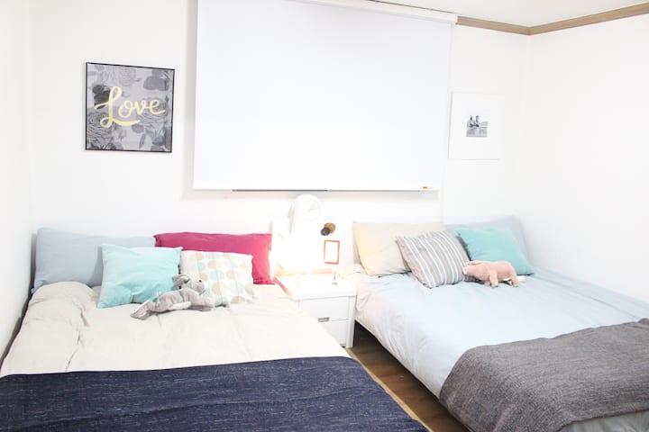 [NEW]♥COZY house♥ Netflix & Isolation available