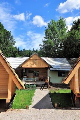 Wooden Cabin TINKARA