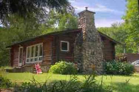 Rustic log cabin retreat