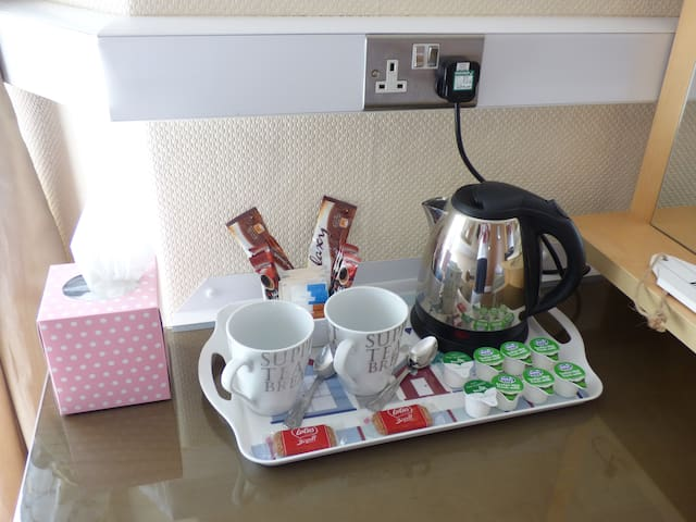 Hospitality Tray in each room