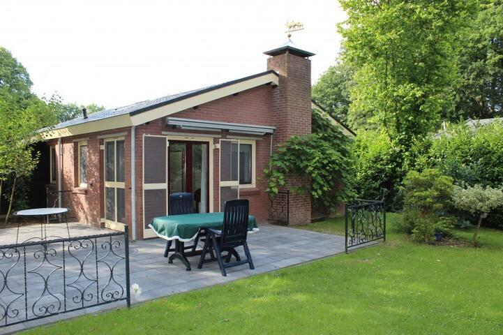 Super bungalow met ruime tuin op de Veluwe