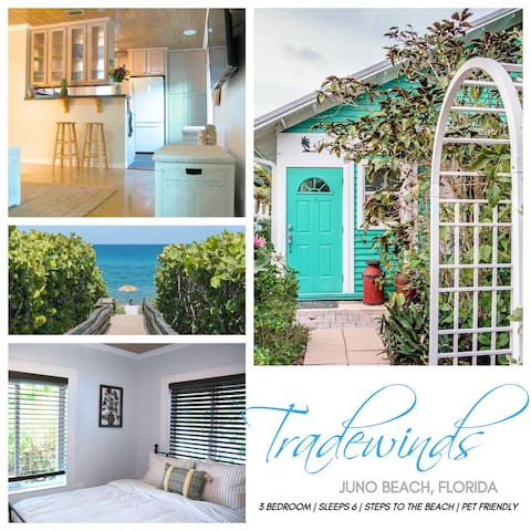 ★TRADEWINDS★ Steps to Beach ♥♥♥ Best of Juno Beach
