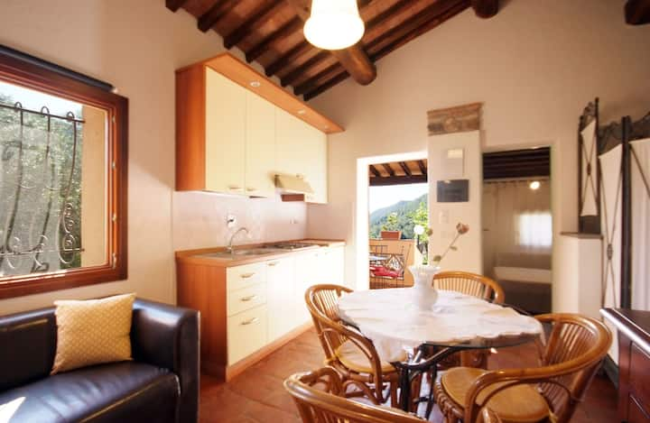 In panoramic position and with sea view – Il Villino