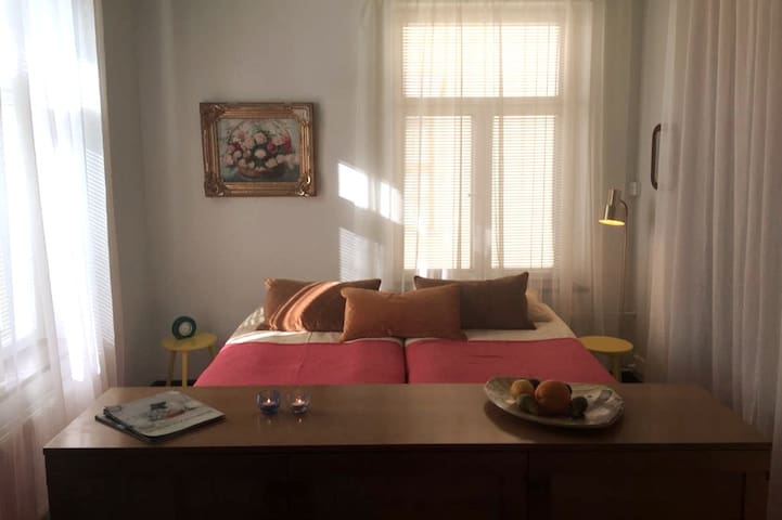 Modern and Central Studio 20 meters from the Sea