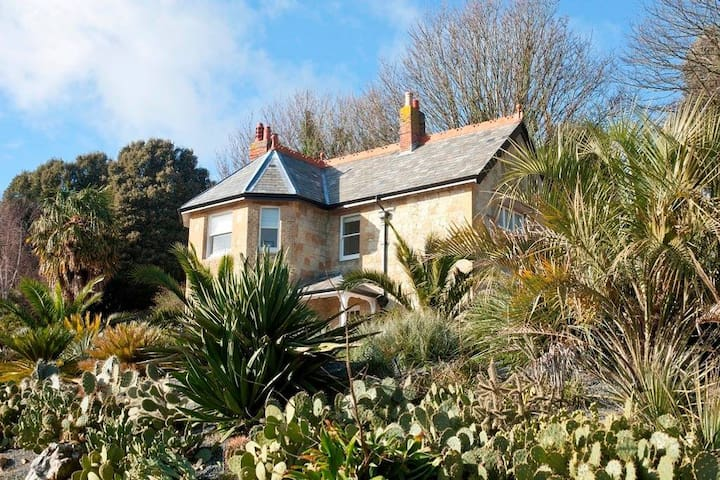 Ventnor Botanic Garden's Signal Point Cottage