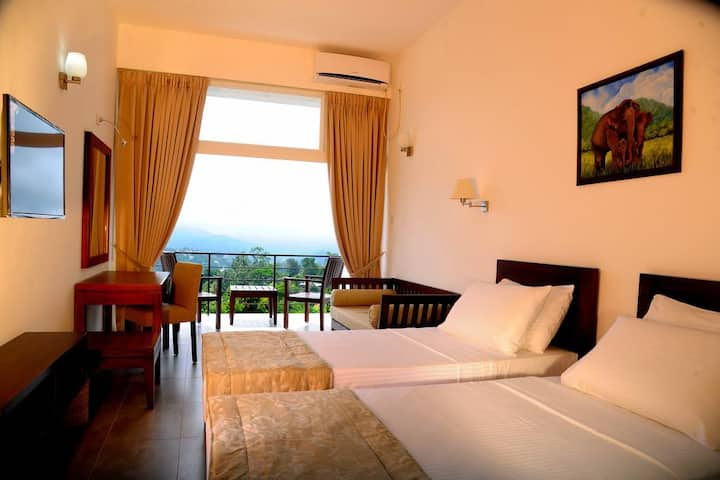 Deluxe Double Room at The Kandyan Villa