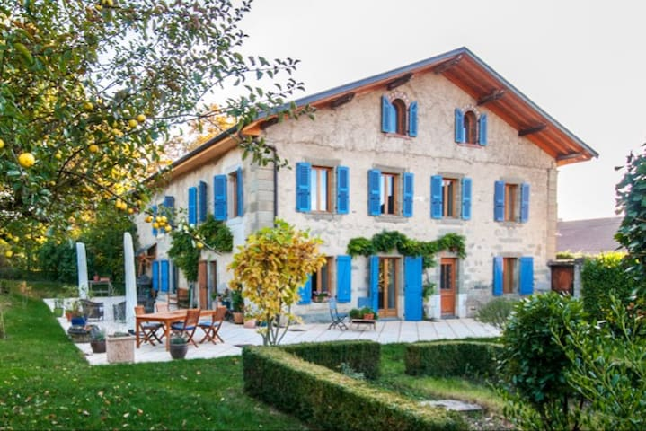 French farmhouse, 20 mins from Geneva and CERN.