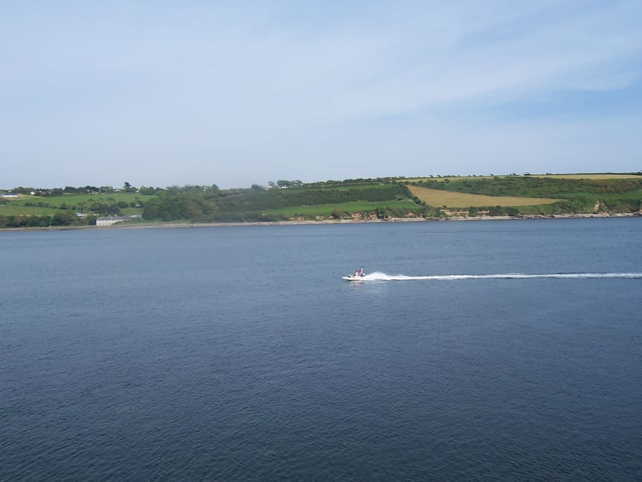 View from Youghal Harbour