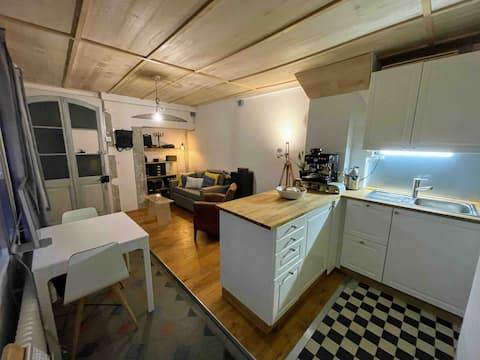 Beautiful studio with garden in the heart of the city!