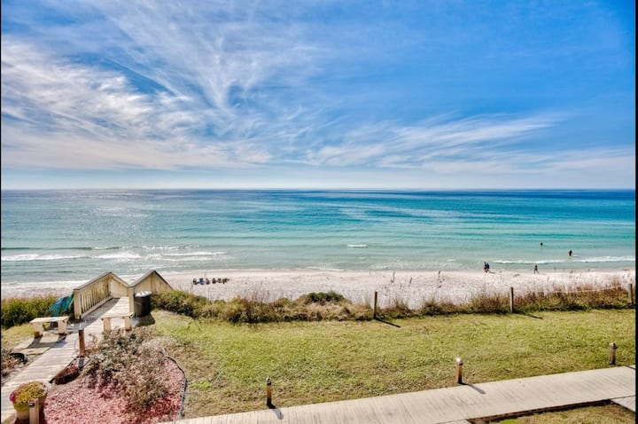 You deserve this! Oceanfront Townhouse on 30A!