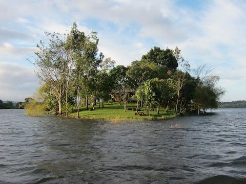 Your own Island in lake near Manila