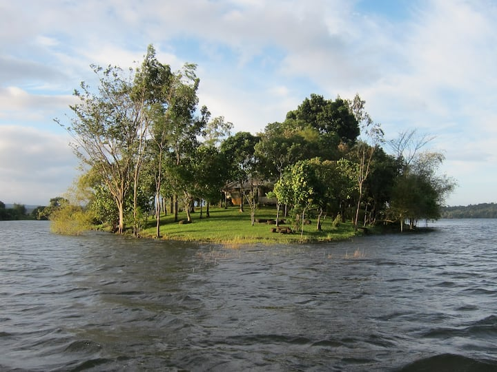 Your own Island in lake near Manila