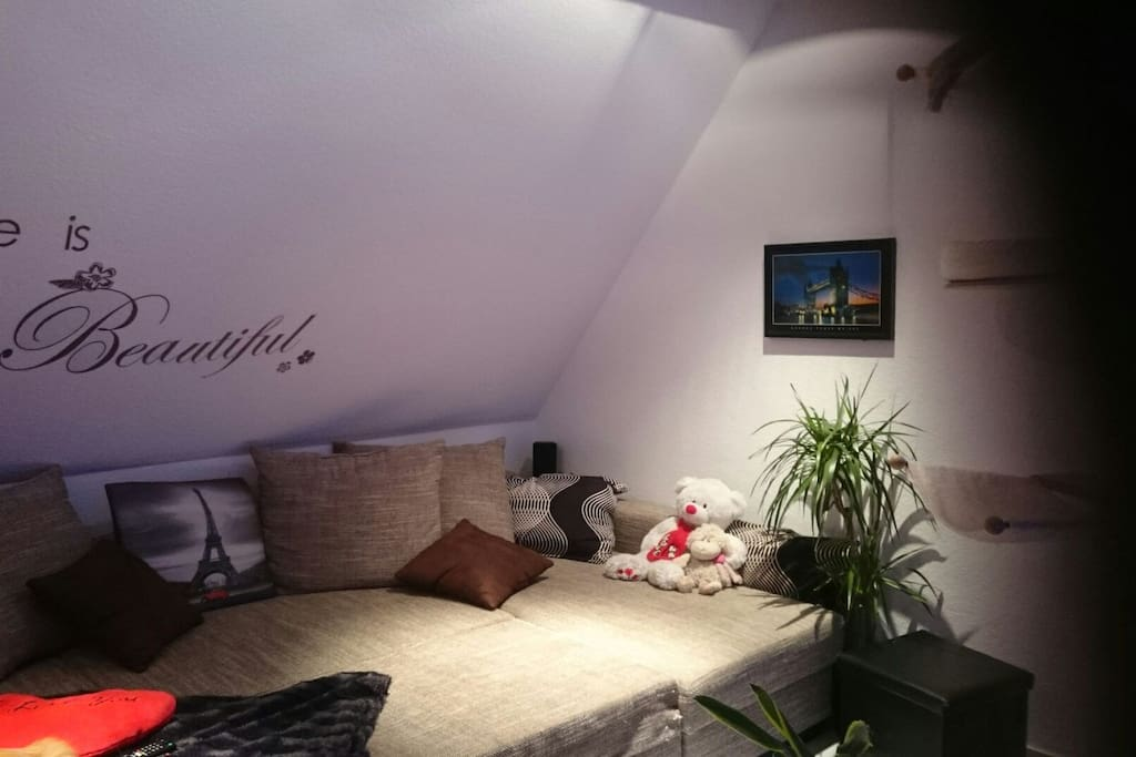 Wohnzimmer zur gemeinsamen Nutzung