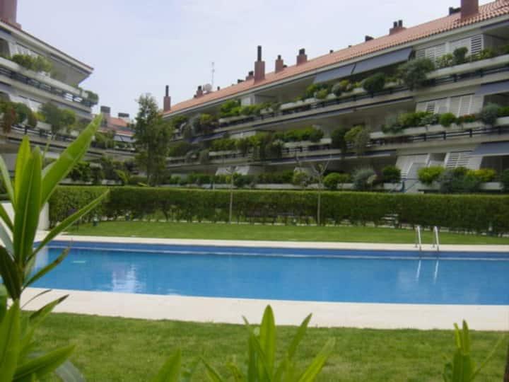Sitges, Parc de Mar. Alto standing