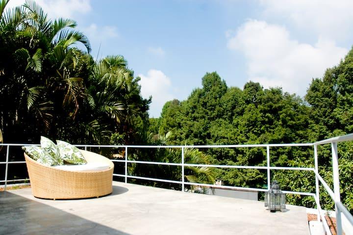 Casa Design moderno e NATUREZA
