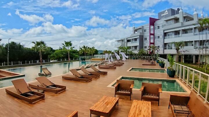 Apartamento no estiloso Thai Beach Home SPA.
