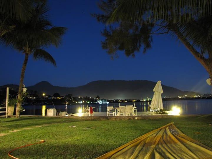 Angra, Casa 6 quartos, praia particular, mar, deck