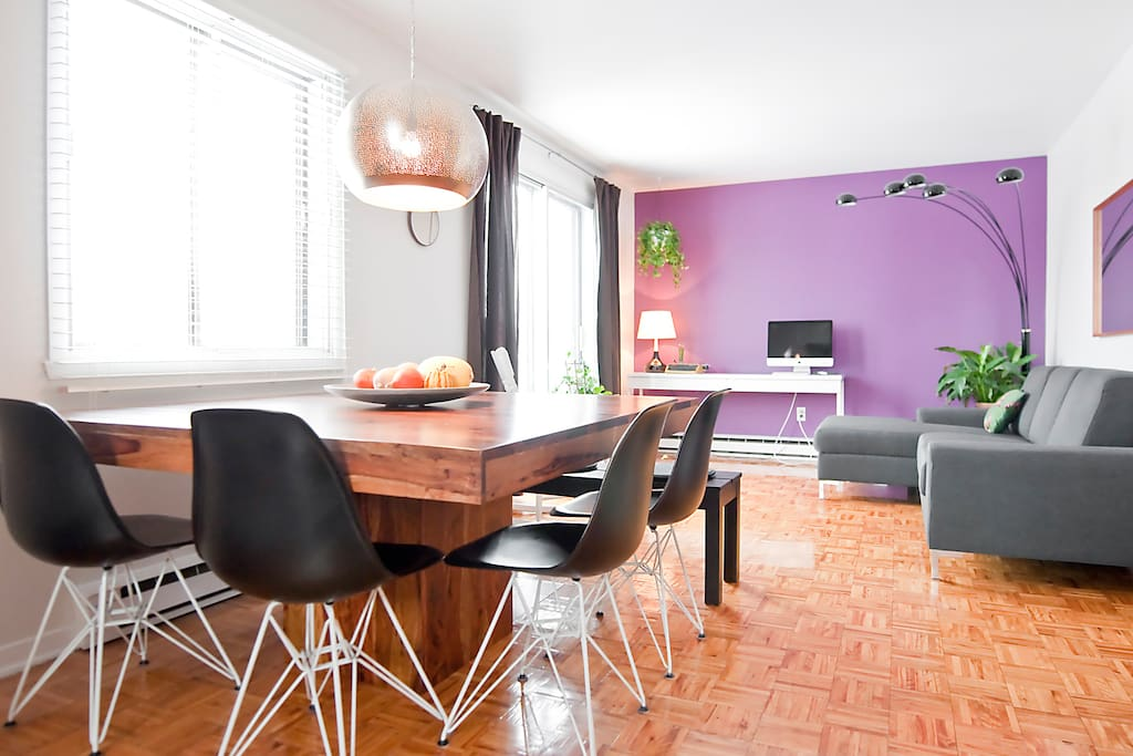 Sunny Appartment On The Plateau Apartments For Rent In Montreal Quebec Canada