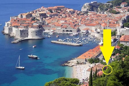 BEACH = 2 min, OLD TOWN = 5 minutes - Dubrovnik
