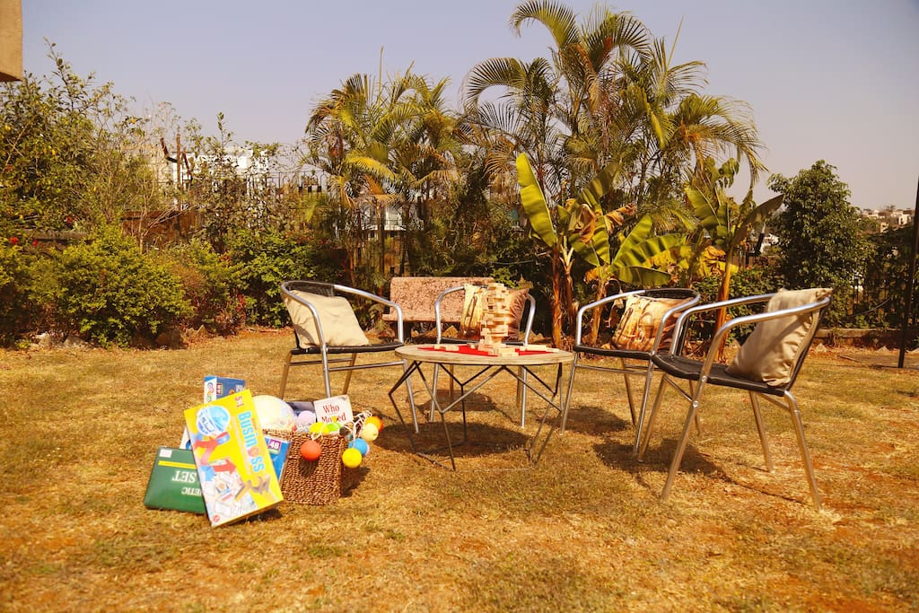 Outdoor board games for family time