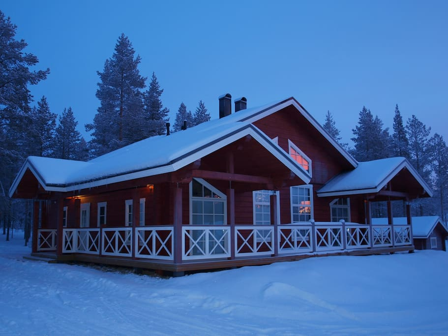 luxury house near the slopes golf h user zur miete in kittil finnland. Black Bedroom Furniture Sets. Home Design Ideas