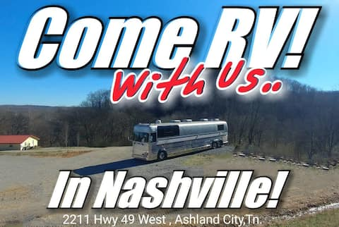 RV site near Nashville