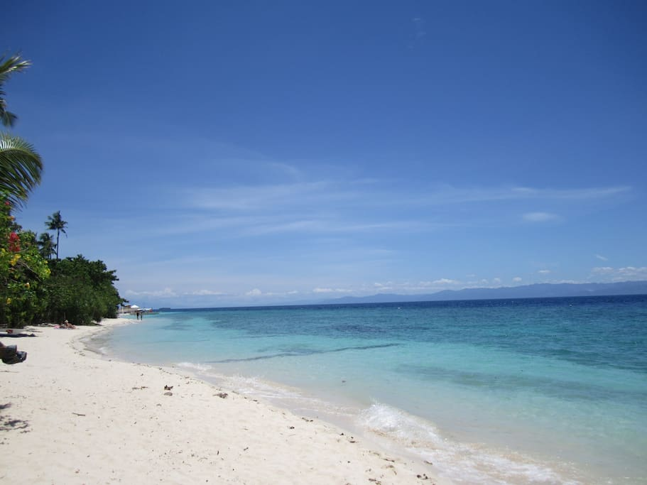 White Beach, Moalboal, Cebu - directly in front of the house