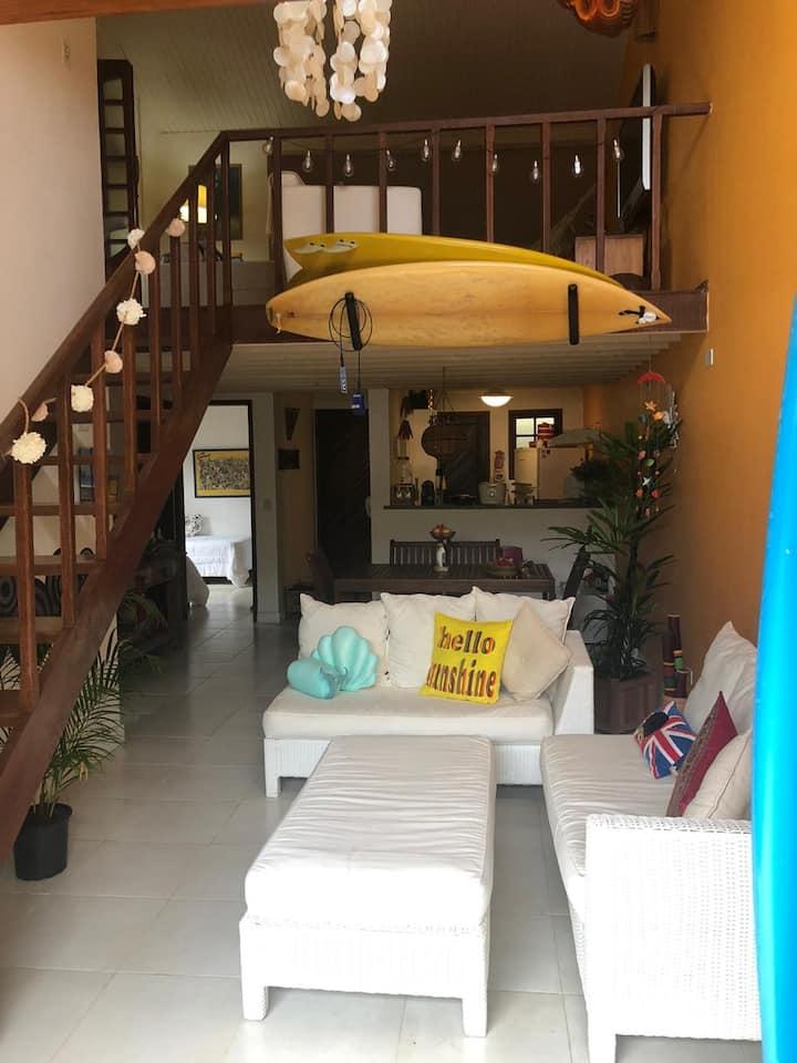 Casa Aconchegante, bem decorada e muita energia +