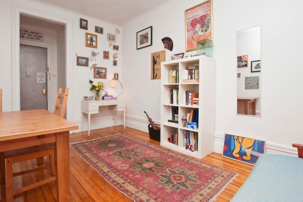 designer 39 s spacious manhattan apt wohnungen zur miete. Black Bedroom Furniture Sets. Home Design Ideas