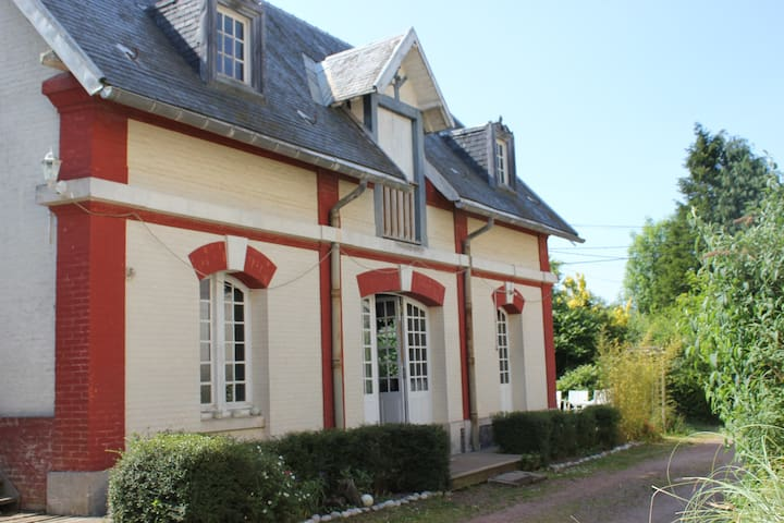 Spacious Cottage on chateau grounds - Sailly-Flibeaucourt - Hus